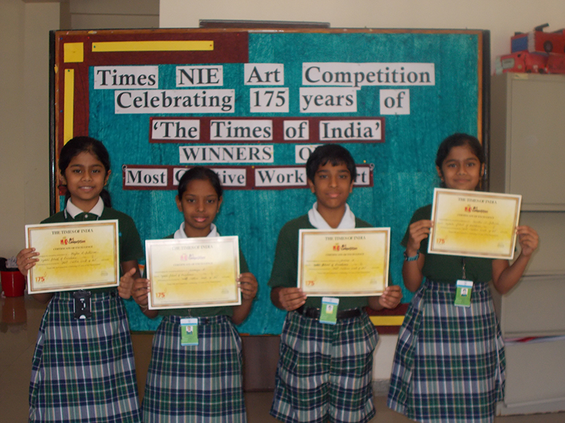 Times of India 2013 Art Competition Winners