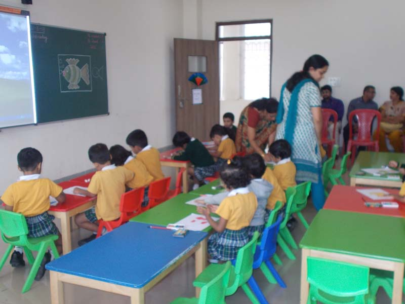 class room - Parents Observation day