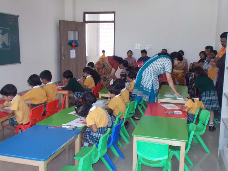 CBSE school Parents Observation day