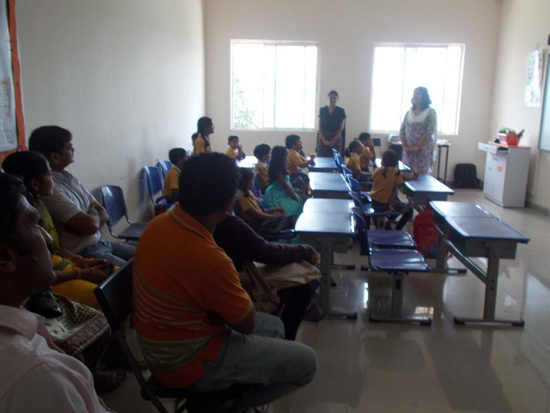 Vydehi school Parents Observation day