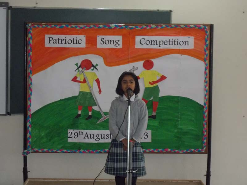 Singing Competitions CBSE School