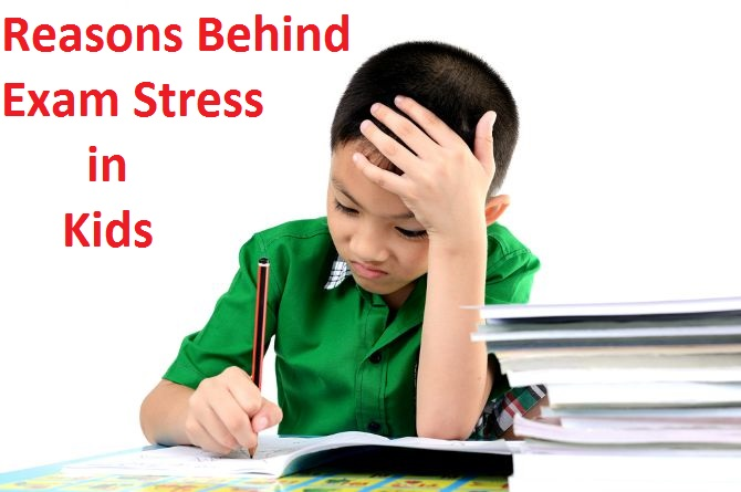 Reasons Behind Exam Stress in Kids