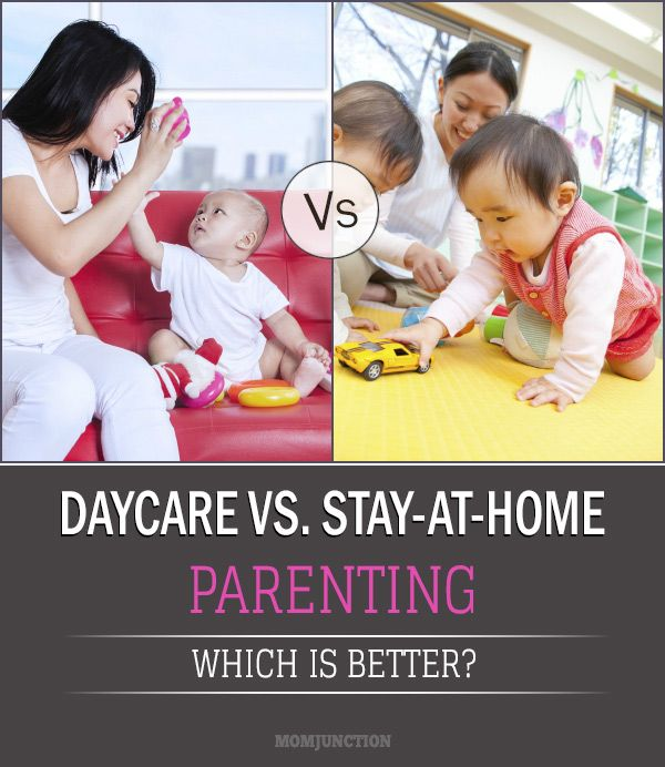 day care vs stay at home