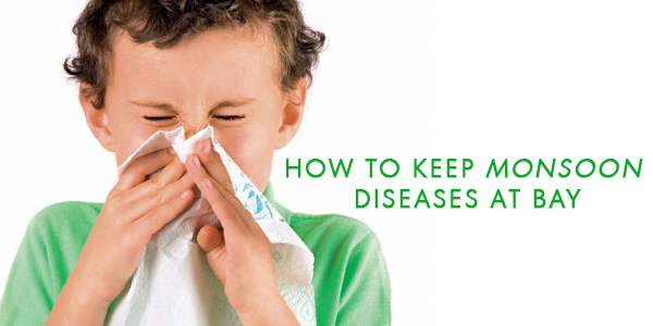 Tips To Keep Kids Illnesses at Bay This Monsoon