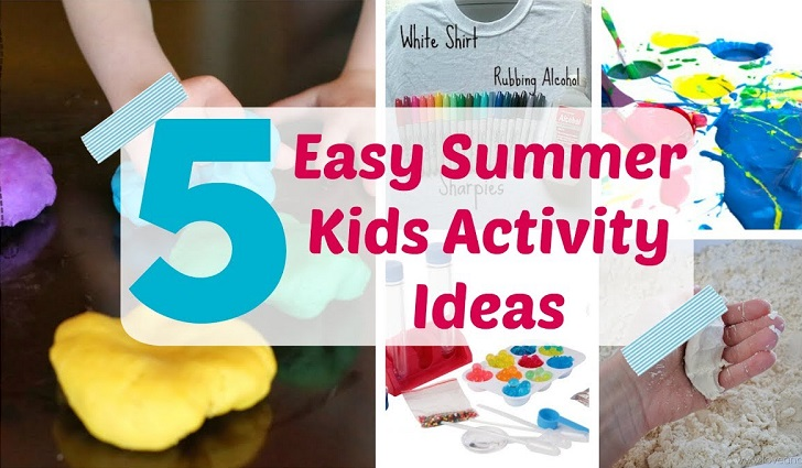Five Summer Time Activities 4 Preschoolers