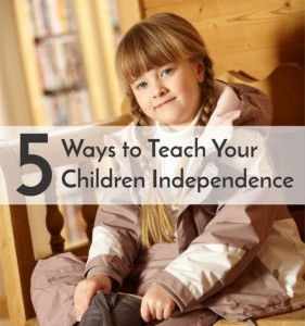 Life Skills For Making Children Independent