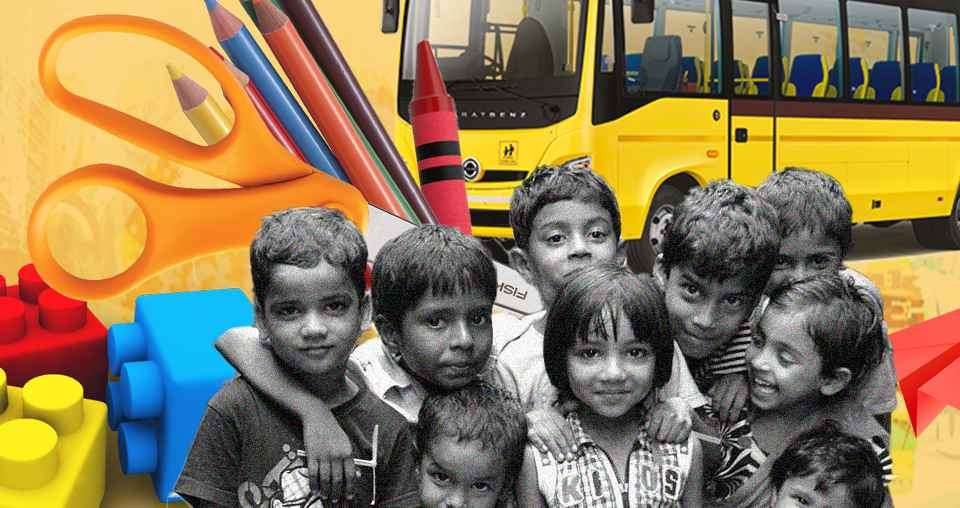 Old Buses To Be Converted Into Creche's For Construction Worker Kids