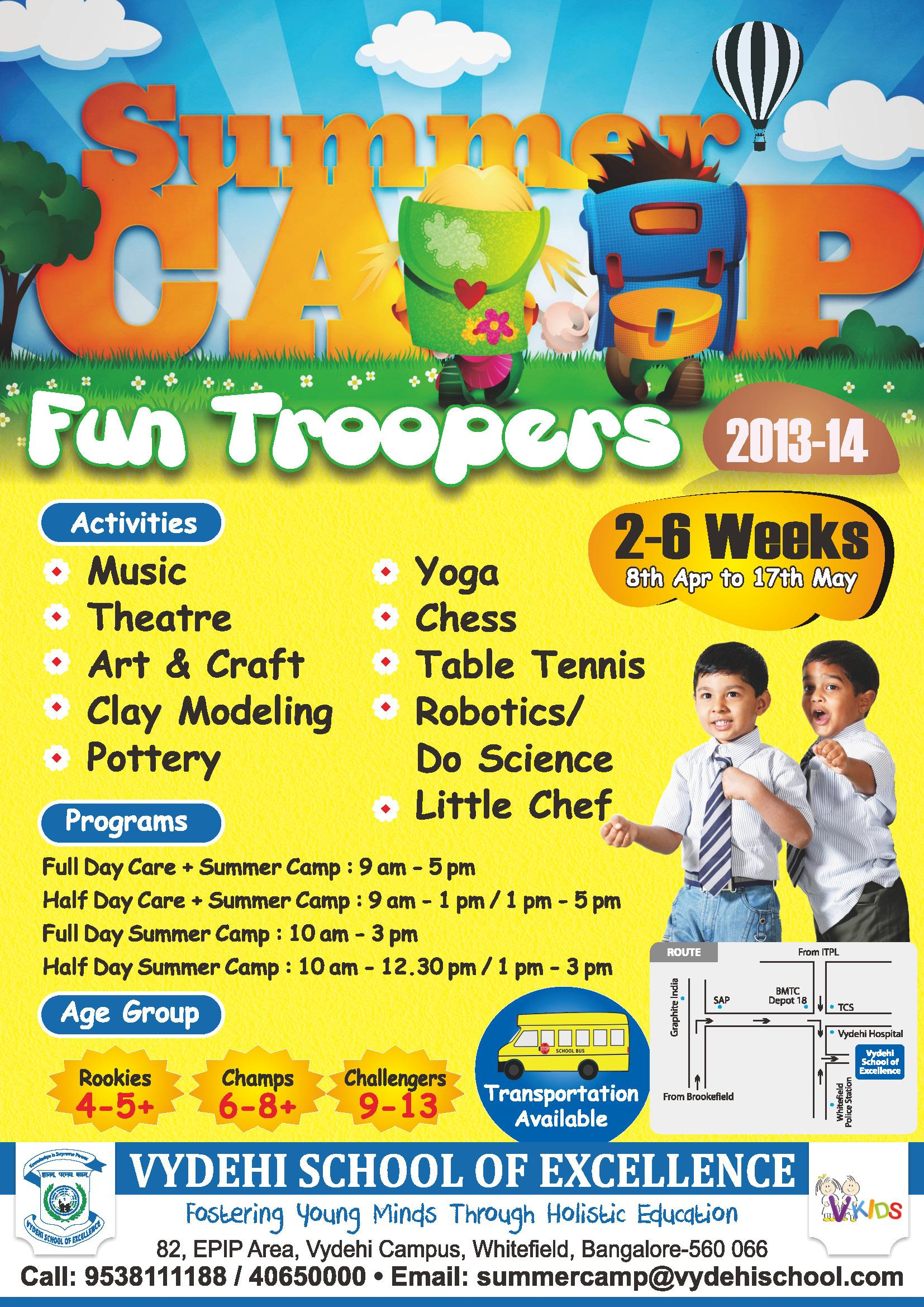 Fun Troopers 2013' - Summer Camp from Vydehi School of ... - photo#24