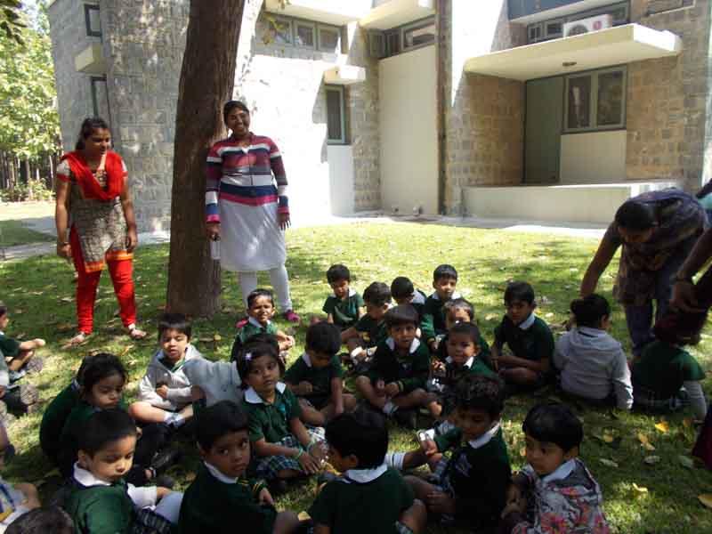 ECC Garden Visit - Playgroup - Daycare 26-11-12
