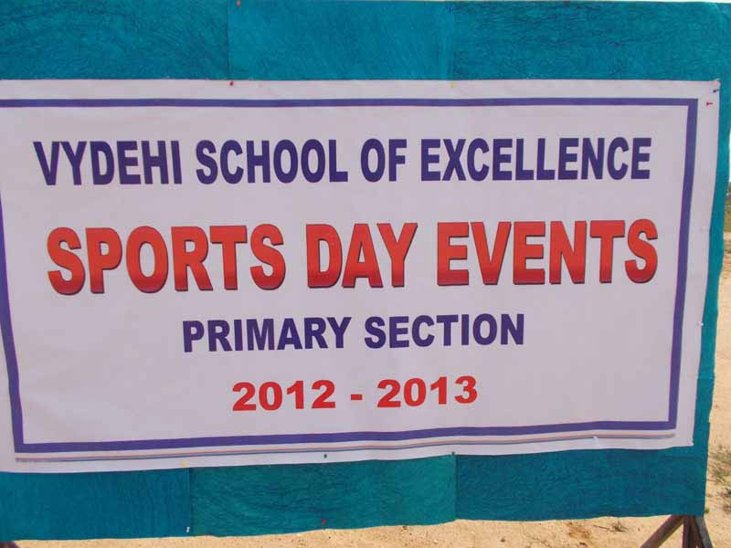 Primary Section Sport Events - 08-11-12