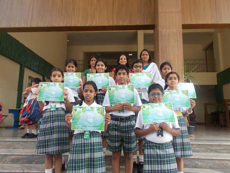 Vagdevi Vilas Interschool Competition Participants