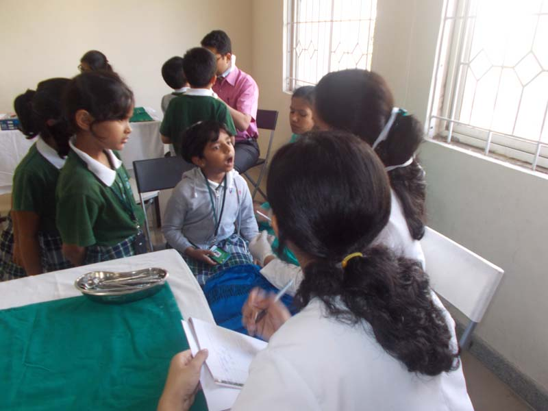 Dental Screening Vydehi School
