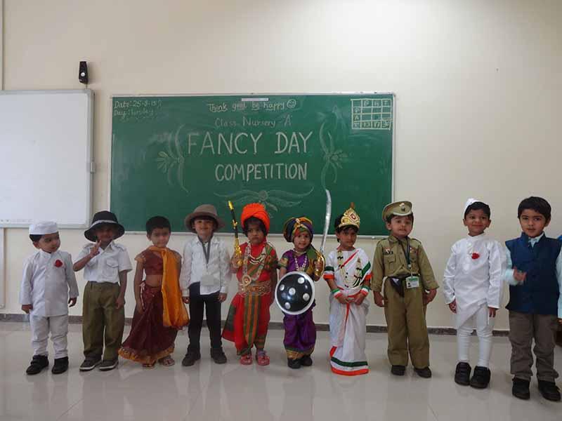 Fancy Dress Competition Vydehi School