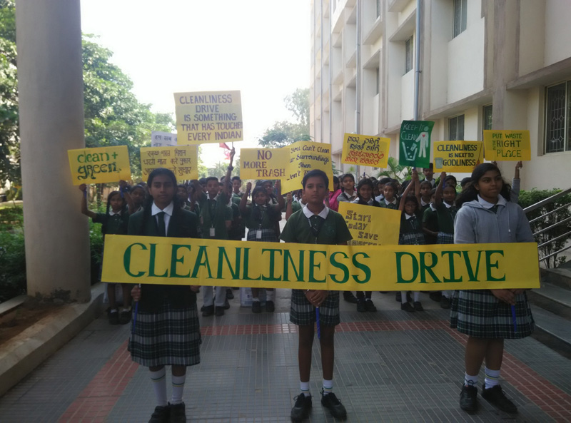 cleanliness drive at vse