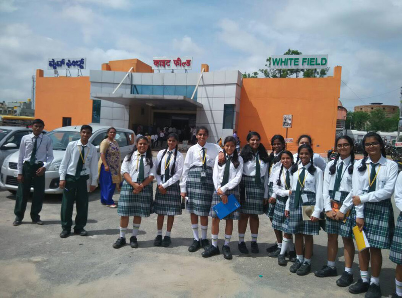 VSE-Students-Field Trip to Whitefield Railway Station2