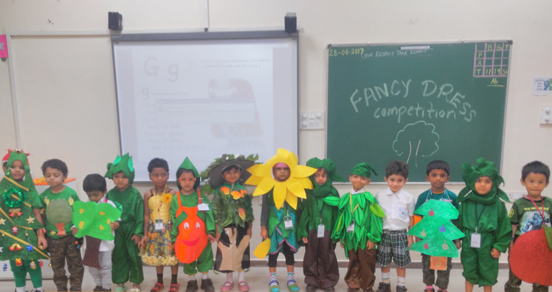 fancy dress competition for lkg children