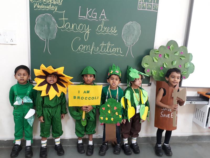 Fancy Dress Competition for LKG Children | Vydehi School
