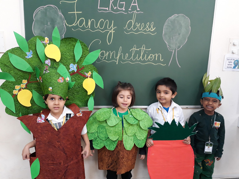 Fancy Dress Competition For Lkg Children Vydehi School