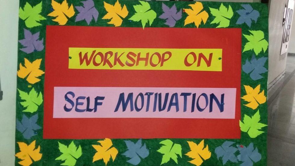 Self Motivation Workshop at VSE4