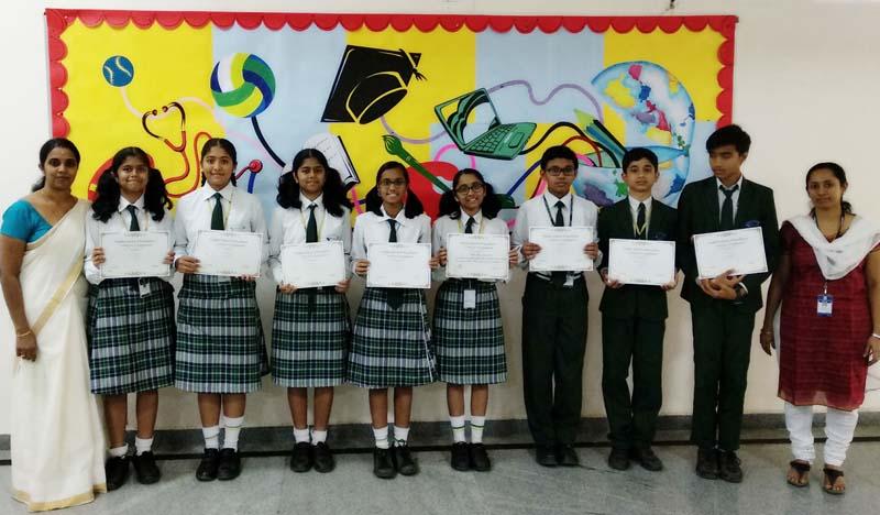 VSE Science Exibition Winners4