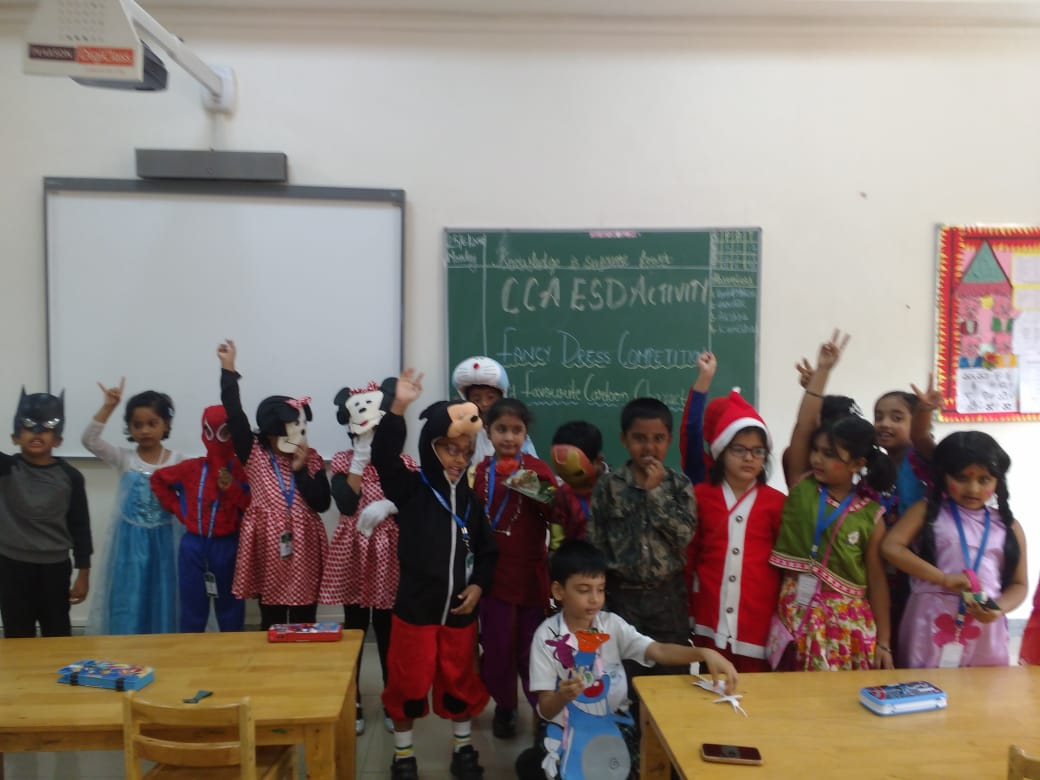 fancy dress competition for grade i