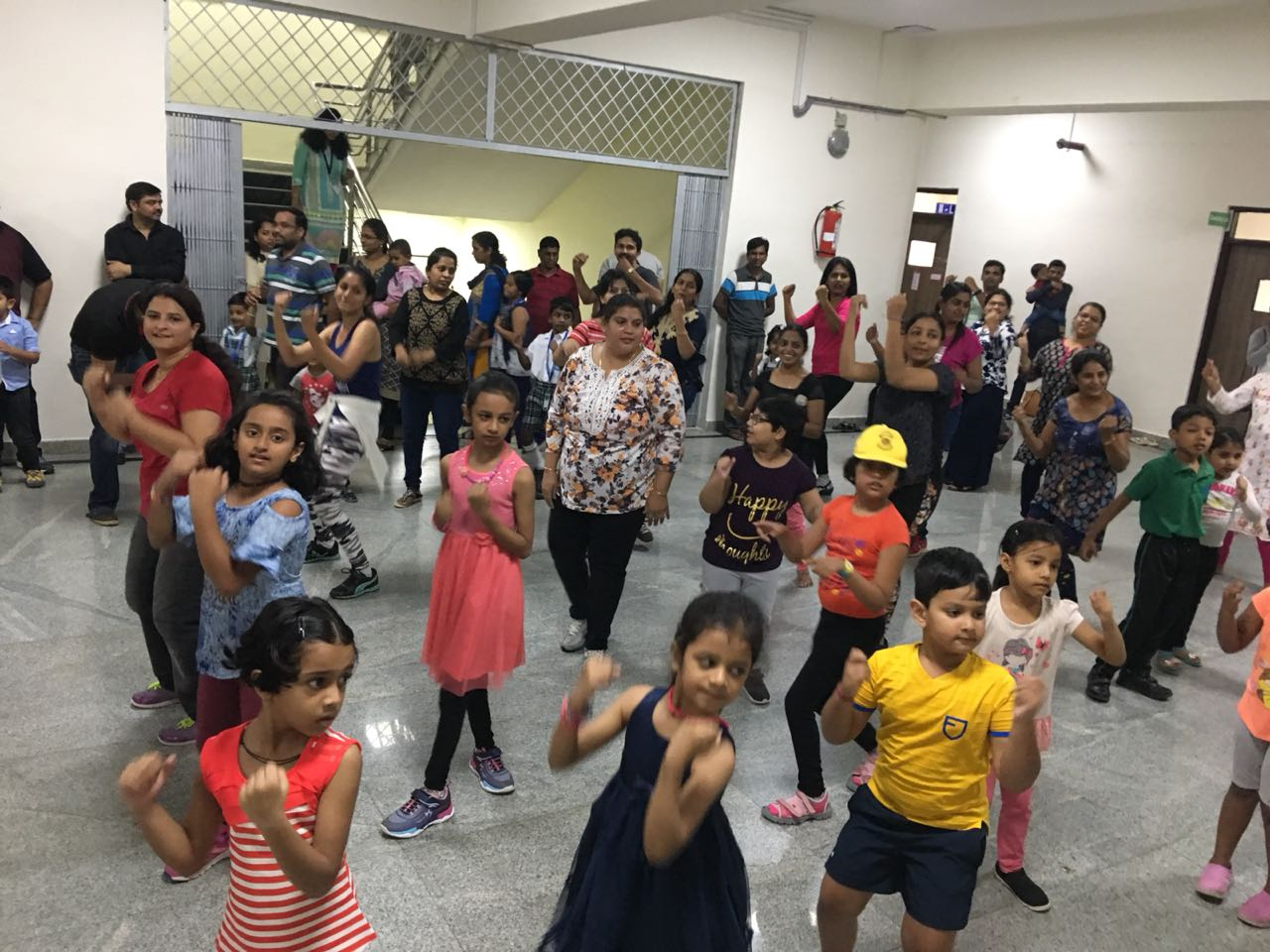 Parent Child Workshop On Western Dance Zumba Amp Yoga