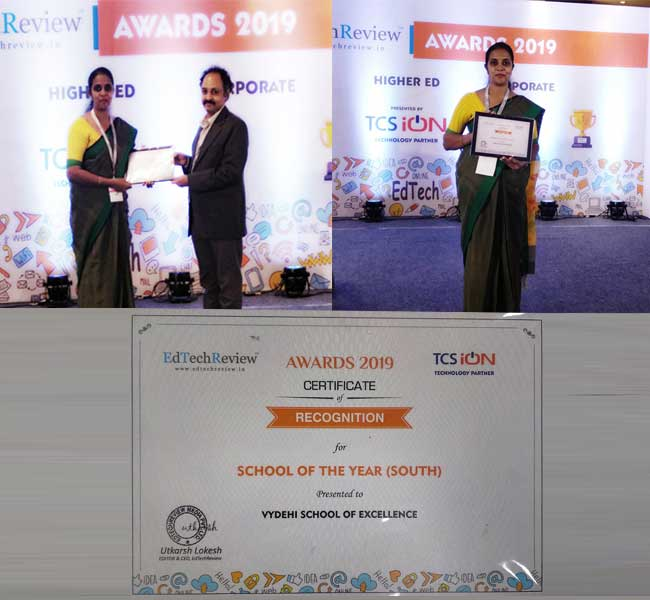 The School of the Year (South) Award