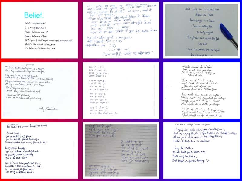 grade 8 poetry